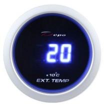 DEPO óra, műszer DBL 52mm - Kipufogógáz hőmérséklet